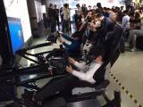 VR赛车三屏赛车高端赛车模拟器租赁游戏道具出租活动庆典暖场