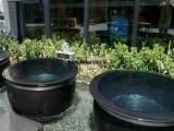 景德镇和天下厂家直销陶瓷泡澡缸青花大缸温泉洗浴大缸陶瓷挂汤缸