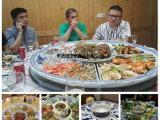 景德镇厂家青花大瓷盘特大超大盘子一米陶瓷海鲜大盘陶瓷大盘子