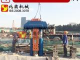 北奕机械厂、新款H型钢拔桩机、高效率