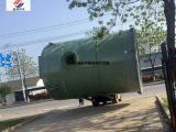 一体化预制泵站筒体采用防腐性超强的玻璃钢材质