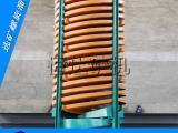 选煤粉螺旋溜槽机螺旋溜槽基本原理 螺旋溜槽介绍