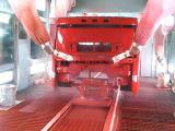 重工大型车头涂装生产线 川崎机器人喷漆线设备方案解决商