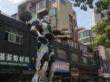 高大炫酷钢铁侠铁艺模型出租8米钢铁侠展览道具租赁