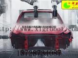 鼠标喷涂机械手 LED设备喷涂机器人 汽车座椅喷涂机器人