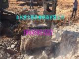酒泉大型劈裂机用于高带公路在建的岩石开挖