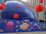 充气气模鲸鱼岛海洋球设备出售厂家鲸鱼岛整套出租价格