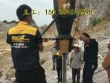 贵州黔西南大劈力碎石机地基开挖