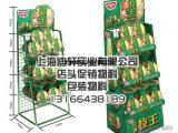 上海迪轩货架厂生产金属铁质展示架陈列架端架