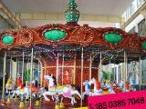 旋转木马价格 豪华转马厂家促销 儿童娱乐设备