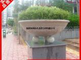 简约广场装饰花钵 花岗岩黄锈石花钵 各种尺寸石雕花钵