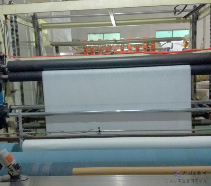 Ultraso<em></em>nic quilting machine