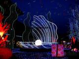 城市亮化照明景观灯光秀出租园林景观灯光节出租