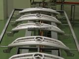 汽车格栅涂装生产线 机器人自动喷涂汽车格栅配件生产线厂家