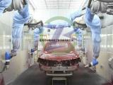 低速电动车喷涂 喷漆 喷粉 新能源车身机器人自动化喷涂生产线