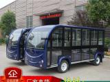 荆州鑫威电动观光车,11座封闭景区游览车观光车价格