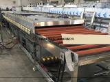 哈尔滨钢板清洗机 通过式钢板除油毛刷喷淋清洗烘干机
