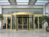 供应西安两翼三翼酒店旋转门自动玻璃感应门设计安装