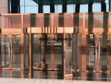 供应西安酒店商场两翼三翼自动感应玻璃旋转门上门安装