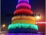 2018专业定制大型圣诞树 蛋糕树圣诞树装饰 商场圣诞布置
