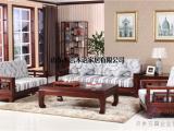 木言木语新中式沙发,全实木环保新款优惠发售