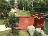 户外木地板安装防腐木地板制作室外木地板