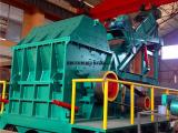 钢制模板破碎机 大型金属粉碎机 自行车车架破碎机厂家