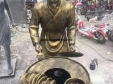 玻璃钢小商贩雕塑,城市街头小吃摊雕塑