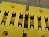 路障破胎器手动阻车器不锈钢破胎器
