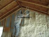 现场发泡聚氨酯喷涂施工聚氨酯保温喷涂工程聚氨酯保温保冷施
