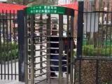 单双通道全高转闸 旋转门禁工地人脸指纹火车站监狱手动三辊闸机