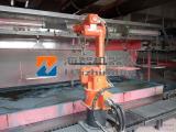 移动喷漆机器人,供漆机器人应用,自动喷涂机械手臂