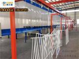 铝型材喷涂设备全自动粉房采用进口PP板制造优质喷涂流水线