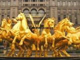 厂家直销太阳神阿波罗雕像 阿波罗战车批发 房地产雕塑摆件