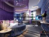 重庆主题酒店装修设计|商务酒店装修设计|认准爱港装饰