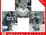 石雕不动明王 青石不动尊菩萨图片 日式宗教人物雕刻