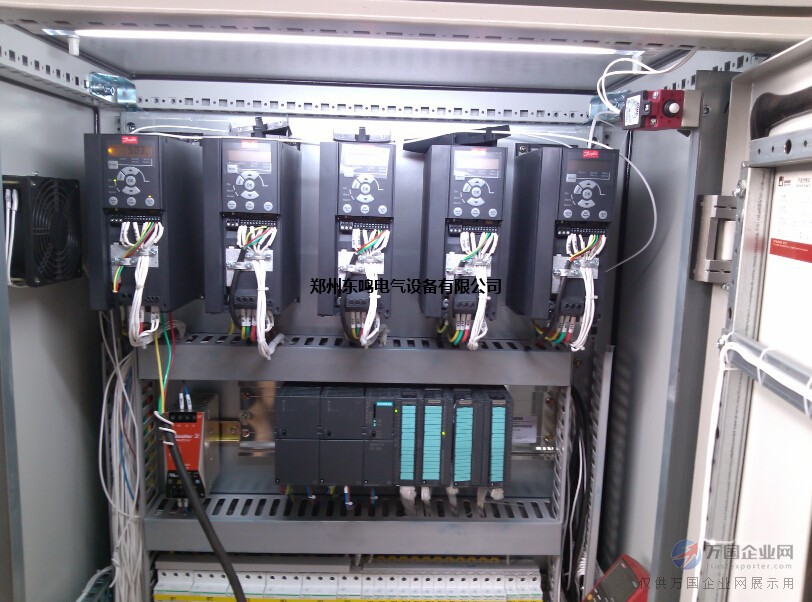 plc控制变频器控制触摸屏控制伺服电机控制电气控制柜