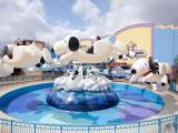厂家直销新型游乐设备自控飞机 儿童乐园自控飞机 飞天史努比