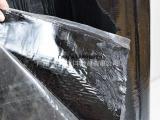 供应珠三角地区带铝膜自粘沥青高分子防水卷材