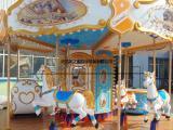 厂家直销旋转木马游乐设备 儿童豪华转马 12人旋转木马