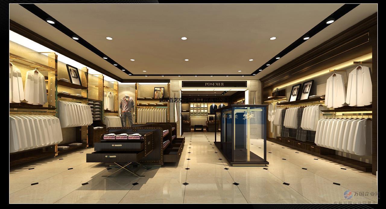 武汉高档品牌服装店装修,服装店设计就找首艺空间,知名设计师