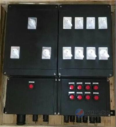 接线腔采用增安型结构;   3,内装高分断小型 断路器或塑壳式断路器,通