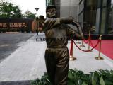 广东原著雕塑厂家供应高尔夫球人物雕塑 户外园林摆件