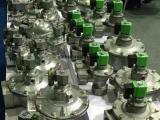 1寸直角式电磁脉冲阀接线方式及连接件机加工件的应用