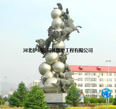 城市不锈钢雕塑园林景观雕塑公司【伊甸园】