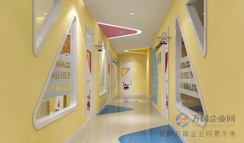 重庆早教中心装修设计_儿童教育培训机构装修_幼儿园