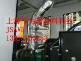 上海节为可拆卸排气管消声器隔热套厂家定制