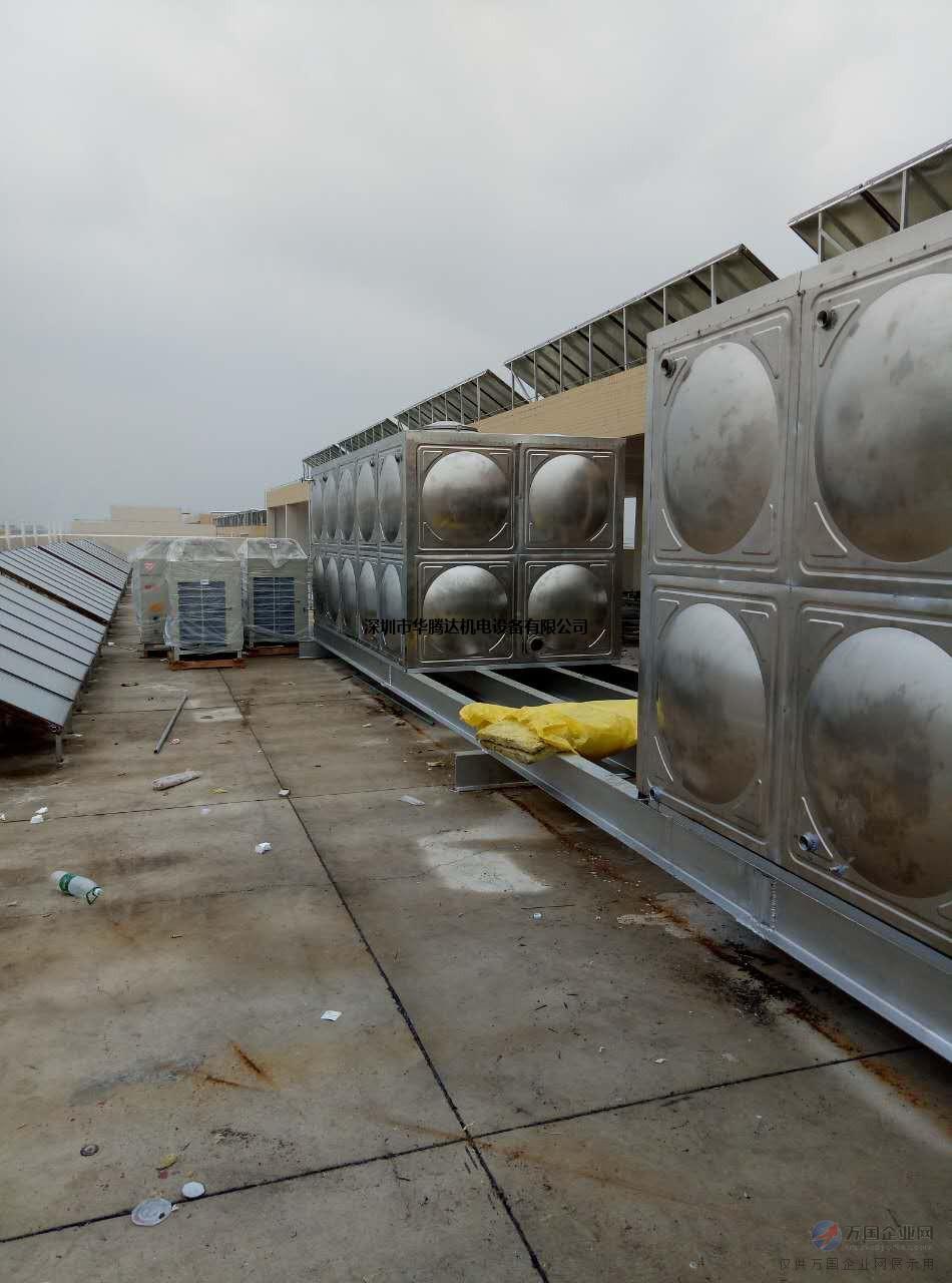 直销不锈钢水箱,消防水箱定制,现场安装!