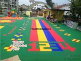 广西宾阳悬浮式拼装地板幼儿园 篮球场地板体育用品