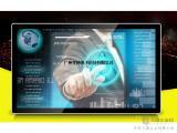 65寸壁挂式触控一体机_高清多媒体触摸教学、广告一体机